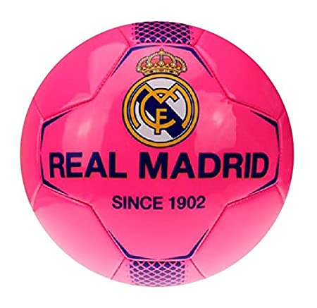 roger Balon Real Madrid Mediano Talla 2 Fucsia: Amazon.es ...