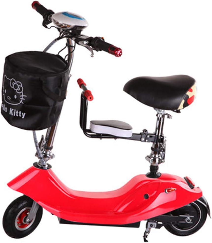 Likai Señoras Plegables Coche Eléctrico Señoras Pequeño De Dos Ruedas Scooter Eléctrico Bicicleta Batería Coche