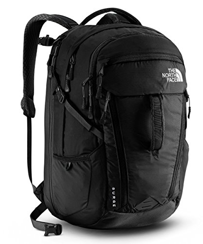 The North Face Women's Surge Laptop Backpack - 15'' (TNF Black) by The North Face