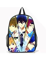 Dreamcosplay Anime Free! Iwatobi Swim Club Backpack Student Bag Cosplay