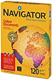 Navigator Colour Documents Paper Ultra Smooth 120gsm 500 Sheets per Ream A3 White - Ref NAV1030 (1 Ream)