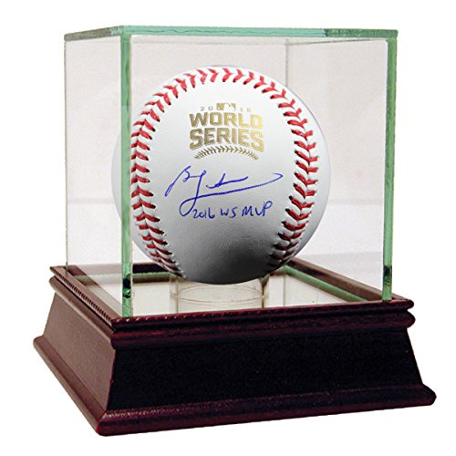 Ben Zobrist Autographed 2016 World Series Baseball with
