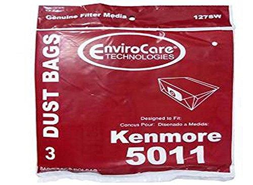 Kenmore 5011 P Paper Bags 3 PK # 127SW