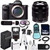 Sony Alpha a7R II Mirrorless Digital Camera (International Model no Warranty) + Sony E-Mount SEL 1855 18-55mm Zoom Lens (Black) + 49mm 3 Piece Filter Kit 6AVE Bundle 13