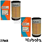 Genuine Original Kubota 6C060-99410 B1VPD7397 Kubota Air Filter B1610 B2100 2pk ,,#id(russopower~hee84361257199616