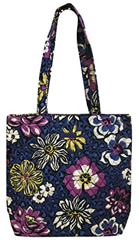 Vera Bradley Tote with Solid Color Interior (Updated Version) (African Violet)