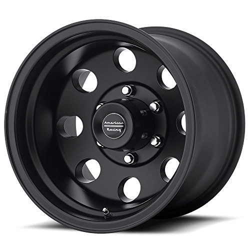(American Racing 172 Baja Black Wheel with Painted Finish 15)