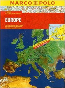europe marco polo atlas marco polo atlases. Black Bedroom Furniture Sets. Home Design Ideas