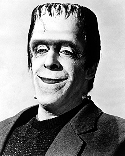 Fred Gwynne The Munsters Halloween 16x20 Canvas Giclee