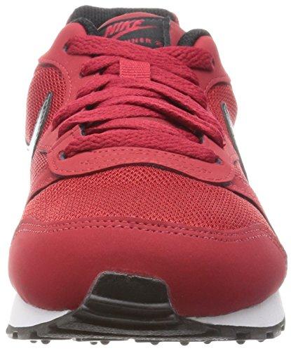 rouge Scarpe Blanc Blanc Gymnase Md Runner Rouge Da Corsa Nike 2 gs Noir Bambino xIPqwwUA