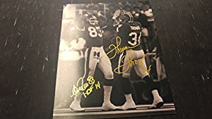Thurman Thomas Andre Reed Buffalo Bills 11x14 Autographed Signed Photo JSA Coa