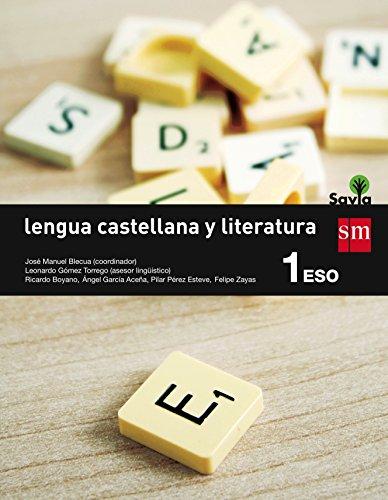 Lengua Castellana Y Literatura. 1 Eso. Savia – 9788467575934