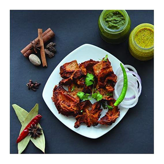 GoodDot Vegetarian Achari Tikka (200gm), Vegan, Mock-Meat - Plant Based
