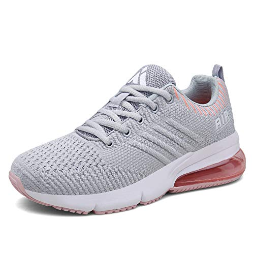 Mishansha Men's Women's Breathable Air Cushion Sports Shoes Running Training Gym Walking Casual Sneakers