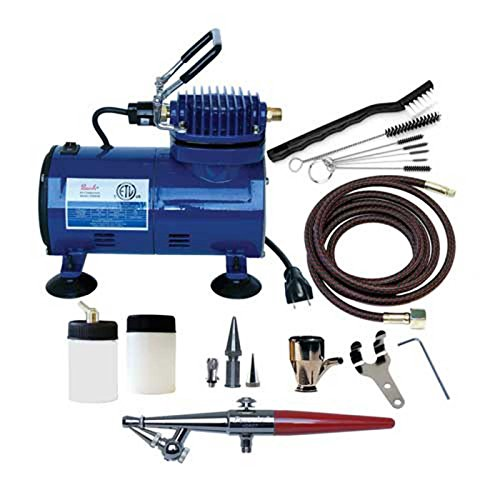 Paasche H-100D Single Action Airbrush & Compressor for sale  Delivered anywhere in USA