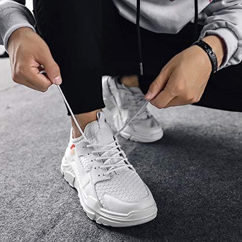 Ginnastica Scarpe Uomo Bianco Running Sportive Tqgold Fitness Donna Da Sneakers w1pq7B4