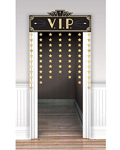 Amscan 241995 Party Supplies Glitz & Glam Doorway Curtain (12 ct) 39