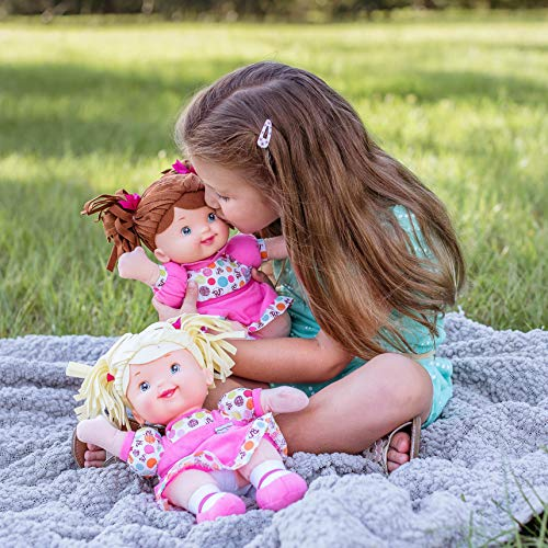 """Baby's First Little TALKER 12"""" Machine Washable Talking Soft Body Baby Doll for Boys and Girls 12 Months+"""
