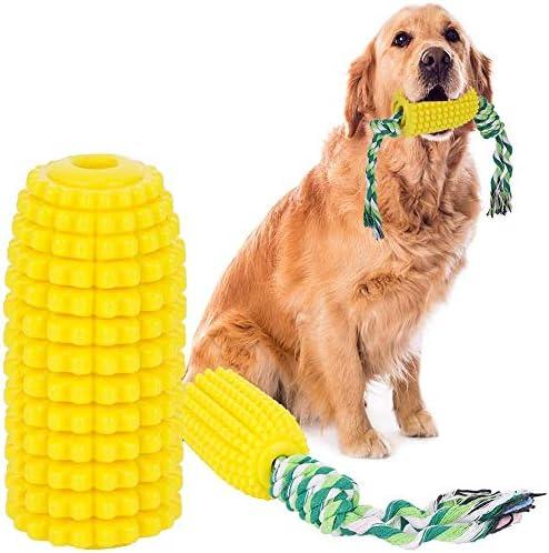 lehaili Dog Toothbrush Toy Pet Corn Molar Chew Toysdog Interactive Game Biting ToyRope Teeth Cleaning Stick Pet Dental Care Dog Brushing Stick Pet Supplies