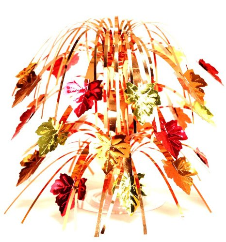 Creative Converting Leaves Cascade Centerpiece