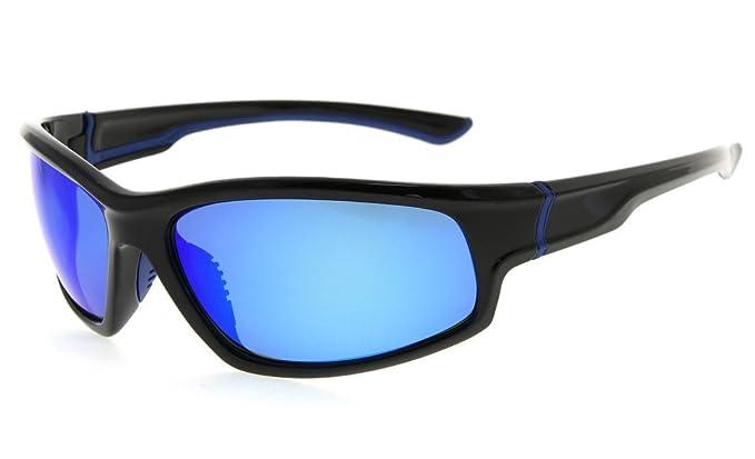 2b77141544e Eyekepper Sports Polycarbonate Polarized Sunglasses TR90 Unbreakable  Baseball Running Fishing Driving Golf Softball Hiking