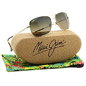 Maui Jim WIKI WIKI Titanium Polarized Sunglasses HS246-16