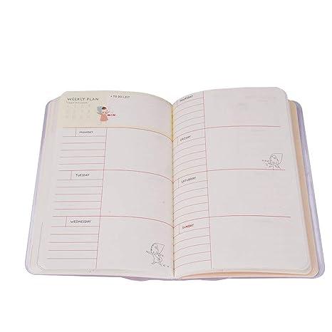 Amazon.com: Cuaderno de planificador semanal, tamaño A4 ...