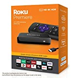 Roku Premiere | HD/4K/HDR Streaming Media Player, Simple Remote and Premium HDMI Cable: more info