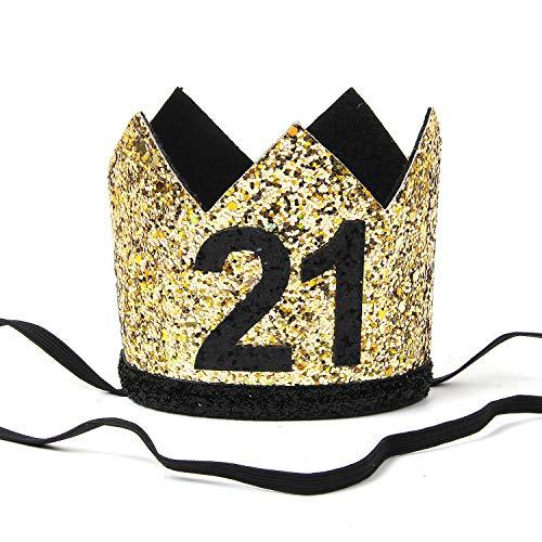 INNORU Happy 21st Birthday Hat for Boy and