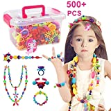 Best Present For 5 Year Old Girls - Conleke Pop Snap Beads Set 500 PCS Review