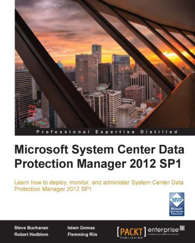Download Microsoft System Center Data Protection Manager 2012 SP1 Pdf