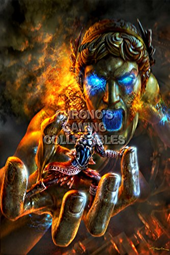 God of War CGC Huge Poster Glossy Finish III Kratos vs Cyclops Sony PS2 PS3 PS4 PSP Vita - GOW012 (16