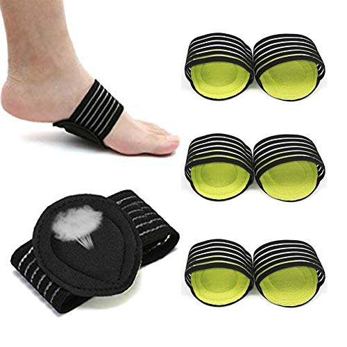 3 Pairs Compression Arch Support Sleeve for
