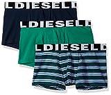 Diesel Men's Mensshawn Three Pack Stripe, Blue/Green Stripe, Large