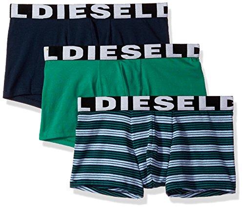 - Diesel Men's Mensshawn Three Pack Stripe, Blue/Green, XX Large