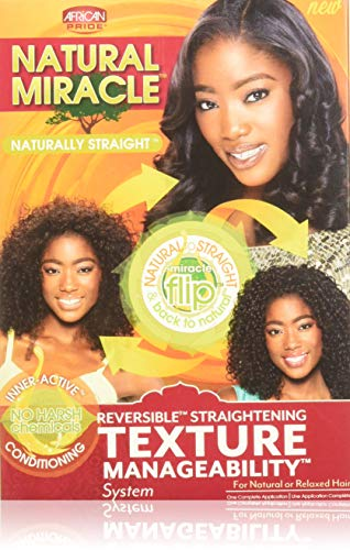 African Pride Naturally Straight Texture Manageability System Kit ()
