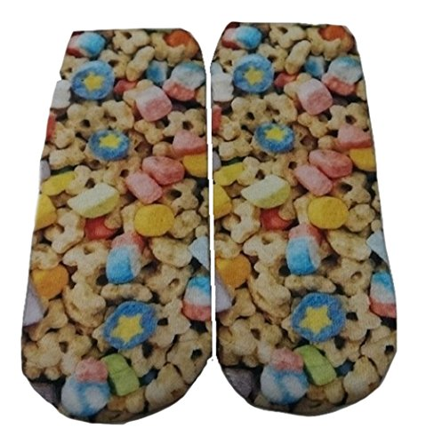 candy-themed-junior-womens-ankle-no-show-socks-marshmallow-cereal