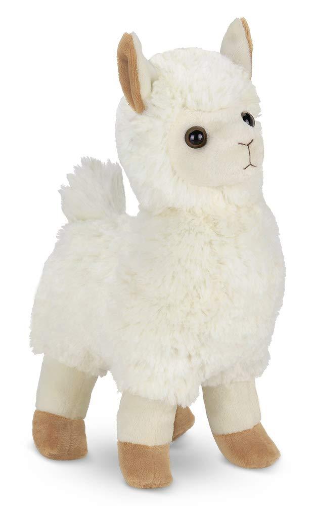 Bearington Alma Plush Stuffed Animal Llama, 10 inches