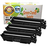 GTS Compatible CF230A toner cartridge HP30A Black Toner Standard Yield 1,600 [WITH CHIP] for HP ALL-in-one Printer/LaserJet Pro Printer MFP M227d/M227fdn/M227fdw/M227sdn/M203dw/M203dn (3-Pack)
