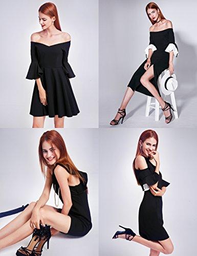Ever-Pretty - Vestido - para mujer Style B