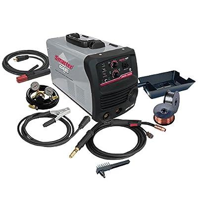 Smarter Tools INMIG-185iD 180 Amp Dual Voltage Inverter MIG/Stick Welder