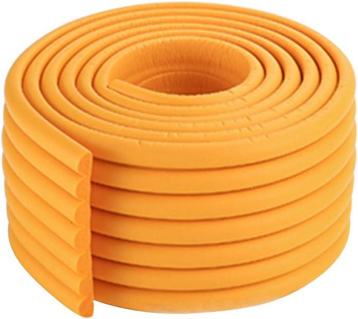 BigBig Style 2 M Ni/ños Guardia de Mesa Protector Tira Muebles de Seguridad para beb/és Borde de Esquina Crash Espuma Parachoques Barra Colisi/ón Color : Brown