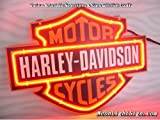 Harley Davidson HD MotorCycle 3D Beer Bar Neon Light Sign 14''x10'' inches Handcrafted