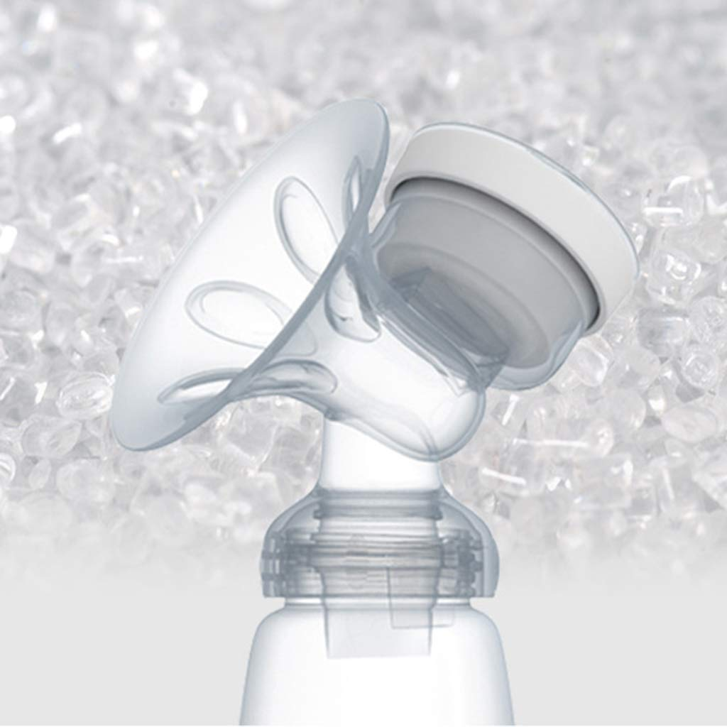 Ventosa per LAllattamento al Seno capezzolo LLAni Kit Doppio tiralatte Elettrico con 2 Bottiglie di Latte