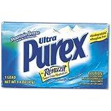 Purex 10245 Ultra Concentrated Powder Detergent, 1.4oz Box, Vend Pack, 156/Carton