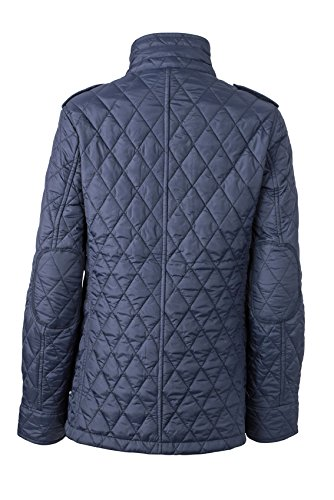 James & Nicholson Steppjacke Ladies Diamond Quilted Jacket - Chaqueta Mujer azul marino