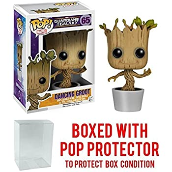 Guardians of the Galaxy Classic NECA Dancing Potted Groot Body Knocker