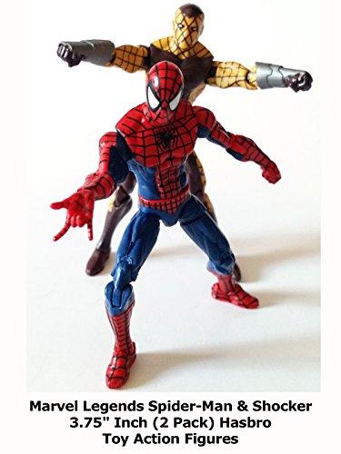 Review: Marvel Legends Spider-Man & Shocker 3.75