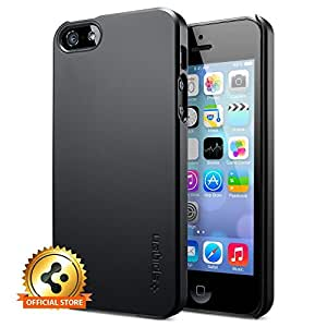 Spigen Ultra Fit Case [Smooth Black] for Candy Case - iPhone 5S / Candy Case - iPhone 5