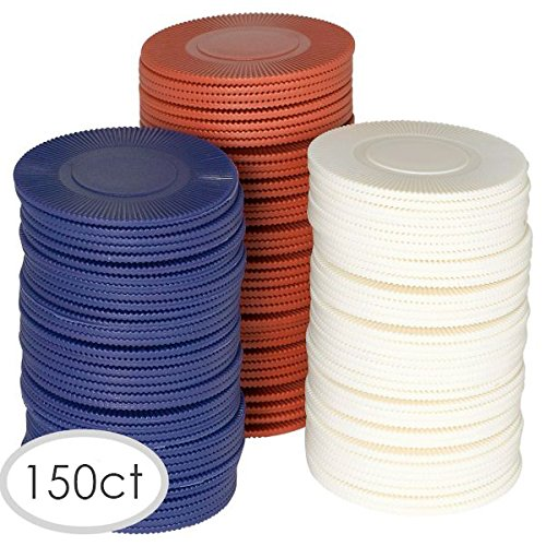 150 Ct Party Poker Chips